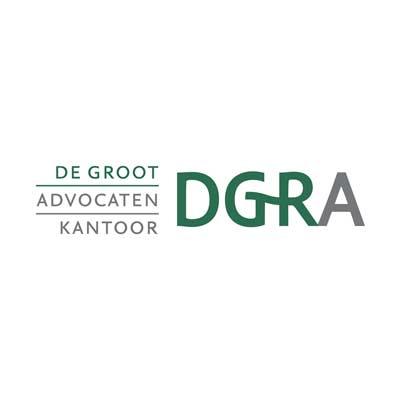 Logo De Groot advocaten kantoor